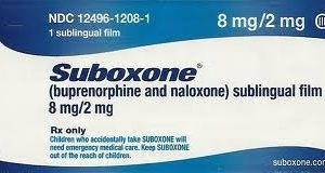 Buy Suboxone 8mg Strips (Film)